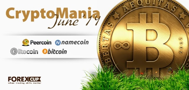 Cryptomania June 2014 - 1st Place Won a Trader from Nigeria